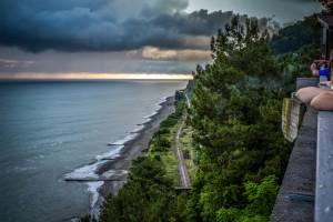 абхазия гагры фото пляжа