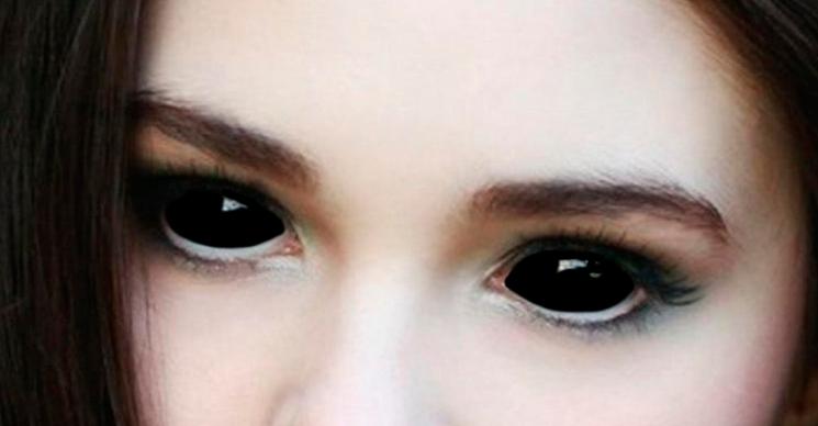 Как сделать глаза огромными