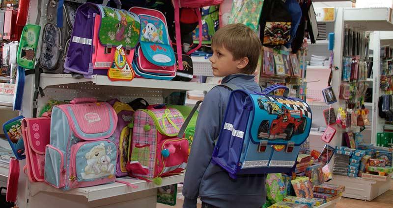 как выбрать ранец для школьника