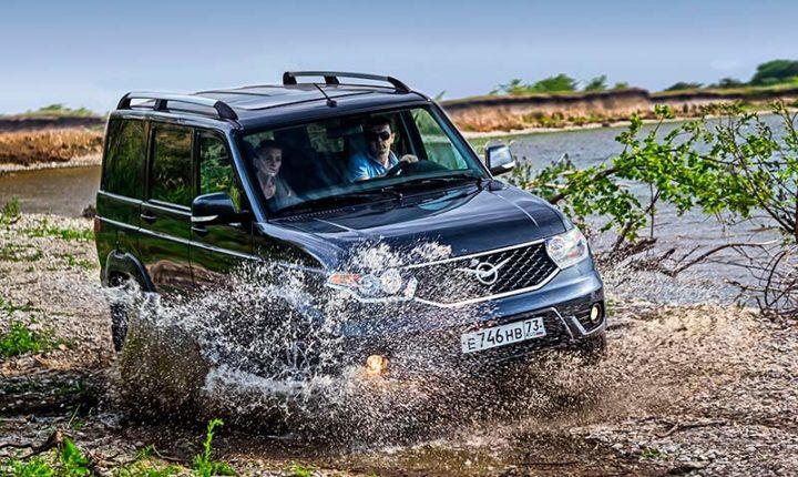 УАЗ Патриот 2017 новая модель