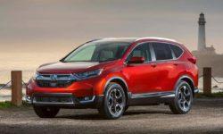 Хонда СРВ 2017 года, в новом кузове. Комплектации, цены и фотографии