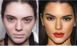 10 Топ-моделей, которых сложно узнать без косметики