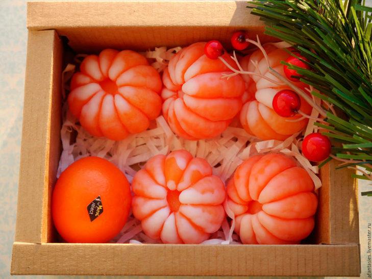 мыло ящик мандаринов