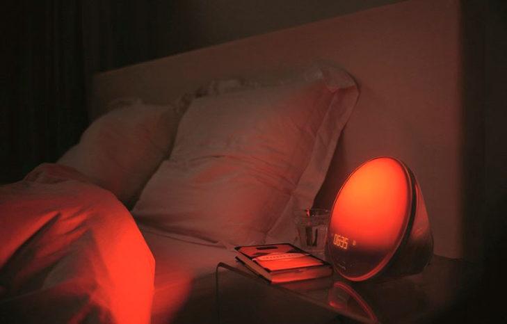 световой будильник