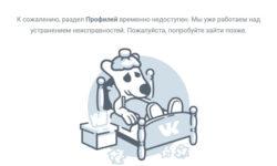 Социальная сеть Вконтакте временно перестала работать (16.02.2018)