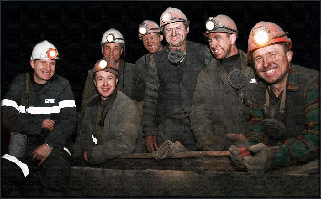 Открытка поздравлением, фото шахтера на открытку