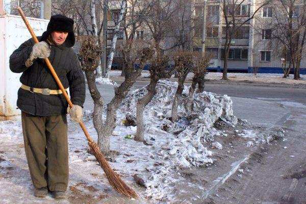 Сколько же зарабатывают дворники в России