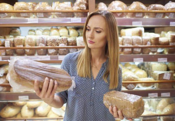выбор хлеба