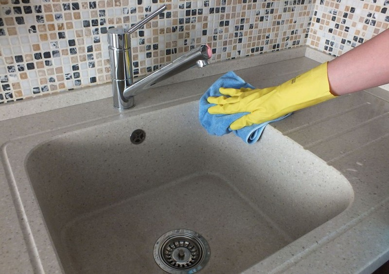 Как отмыть раковину