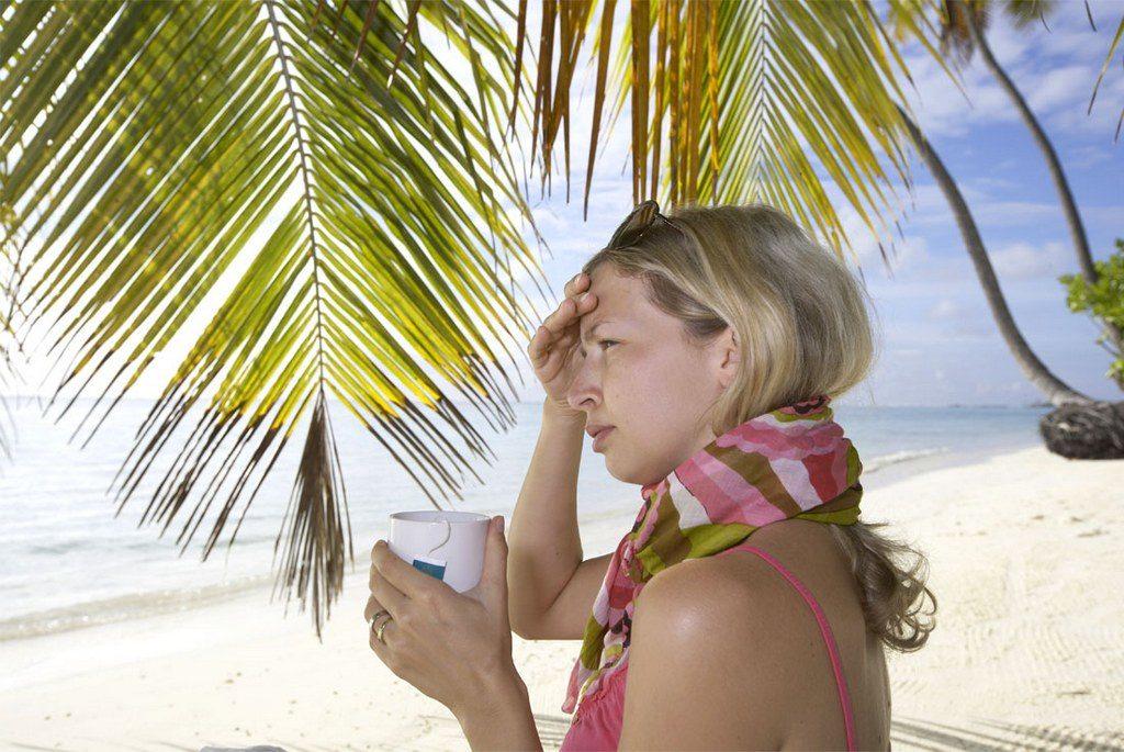 Заболеть во время отпуска