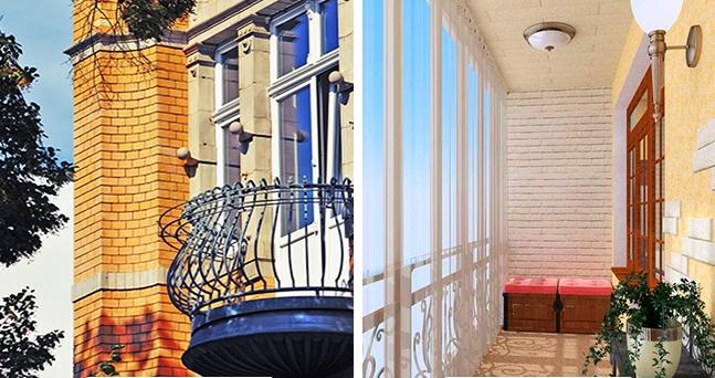 Отличия балкона от лоджии