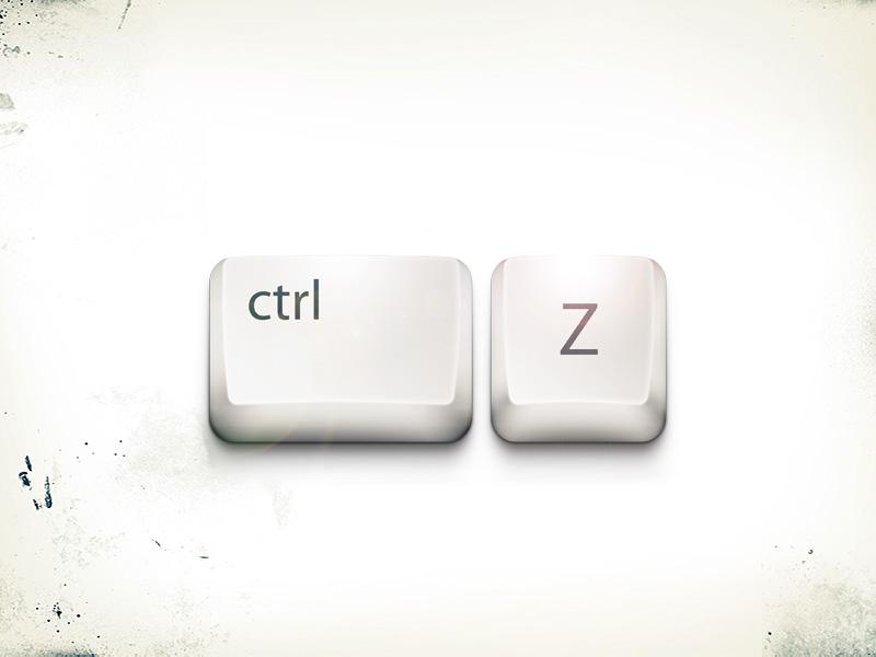 Комбинация Ctrl+Z