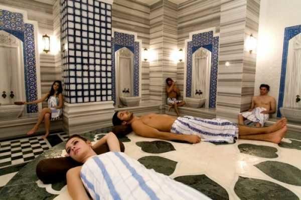 Почему в Хамаме моются в простынях