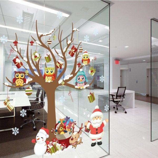 Как красиво украсить офис на Новый год 2020 своими руками