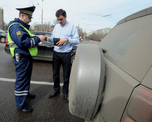 штраф водителю