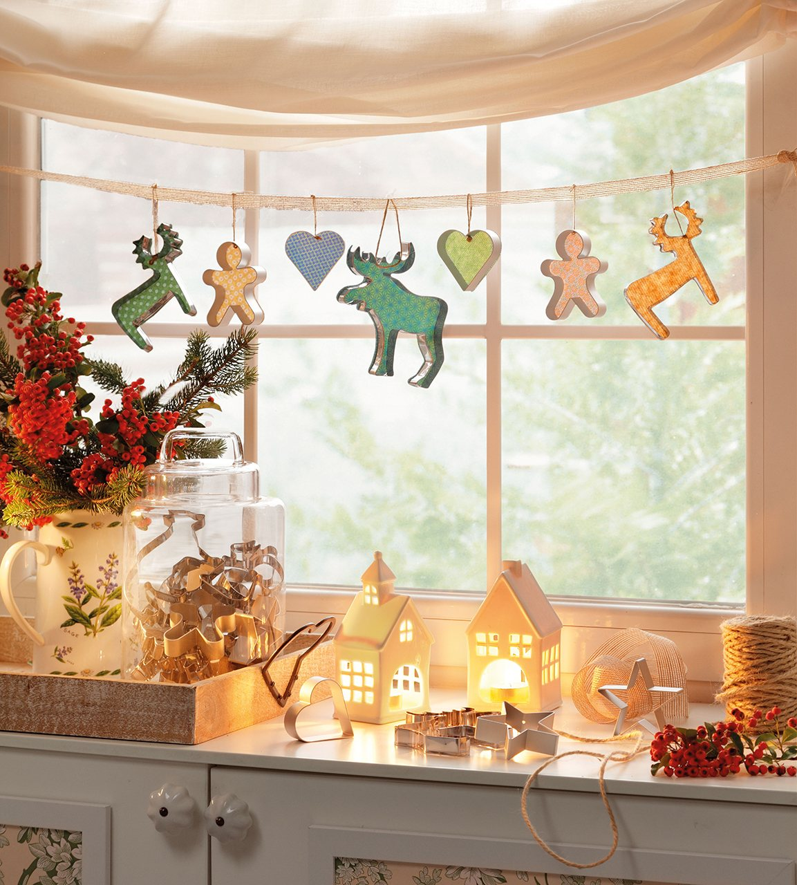 картинки декор комнаты своими руками на новый год