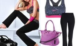 Модные варианты для похода в спортзал