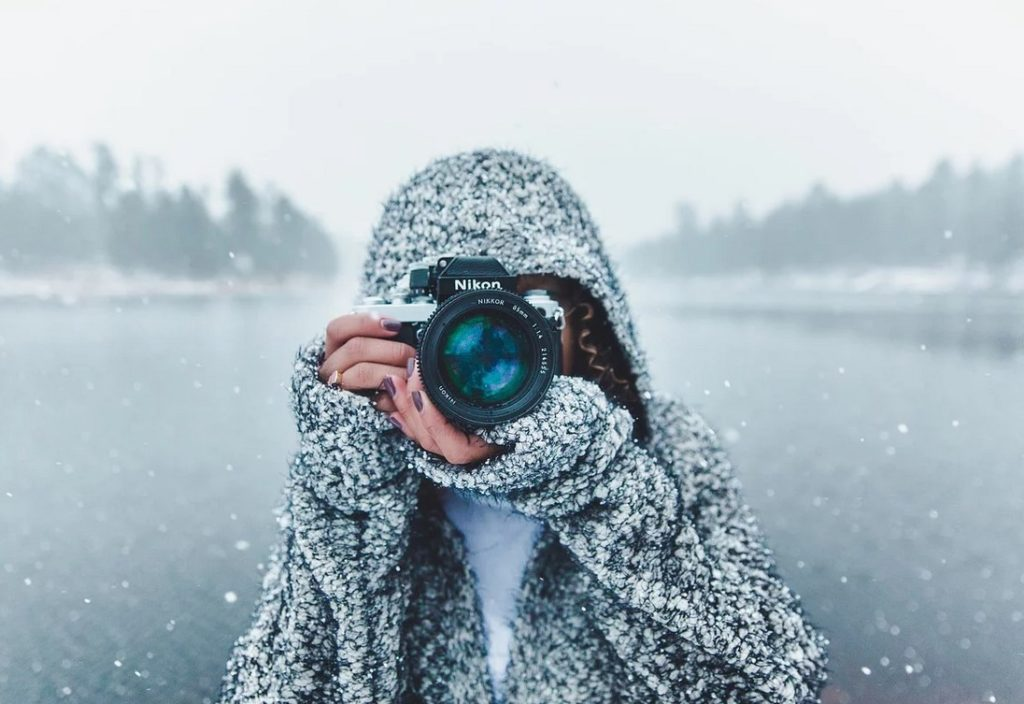 Фотоаппарат зимой