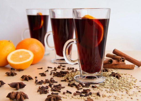 Согревающие напитки зимой