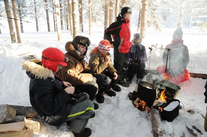 Питание в зимнем походе
