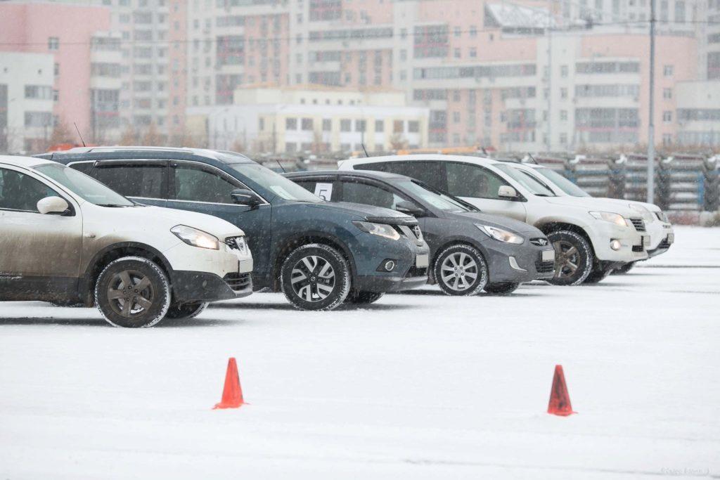 Секреты парковки в зимнее время