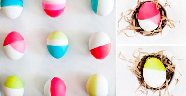 Оригинальные идеи окрашивания яиц на Пасху 2020