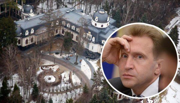 Богатый дворец Игоря Шувалова в Подмосковье