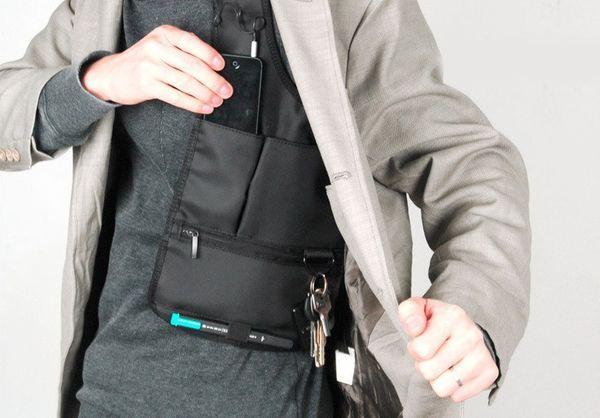 Документы в безопасности: выбираем нательную сумку