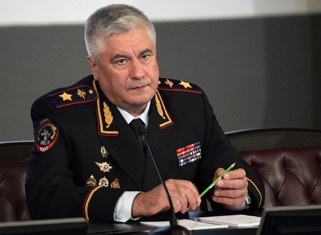 Министр МВД Колокольцев