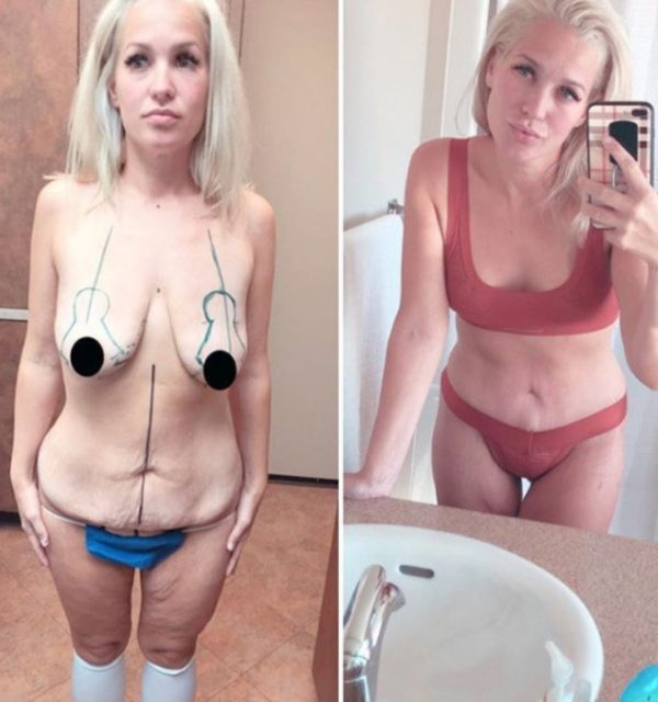 Келси Бонас после трех родов скинула 70 килограммов и стала фитоняшкой