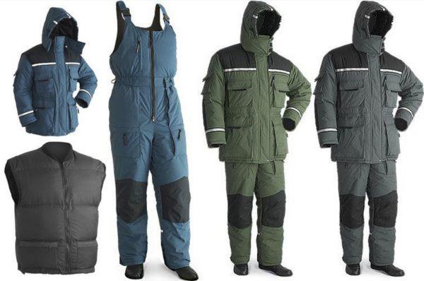 каким должен быть костюм для зимней рыбалки