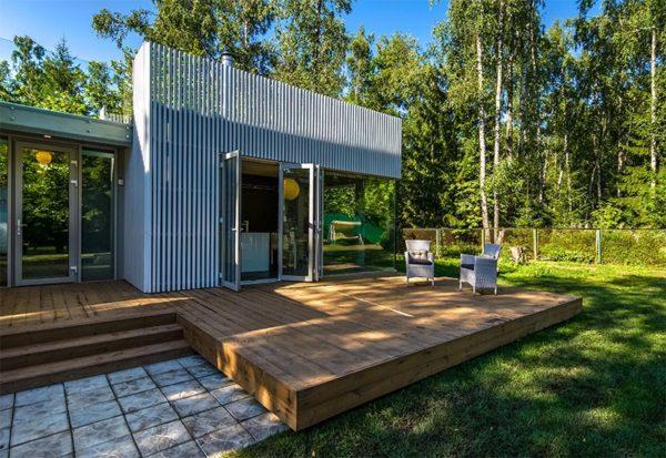 Стильный интерьер загородного дома Галины Польских