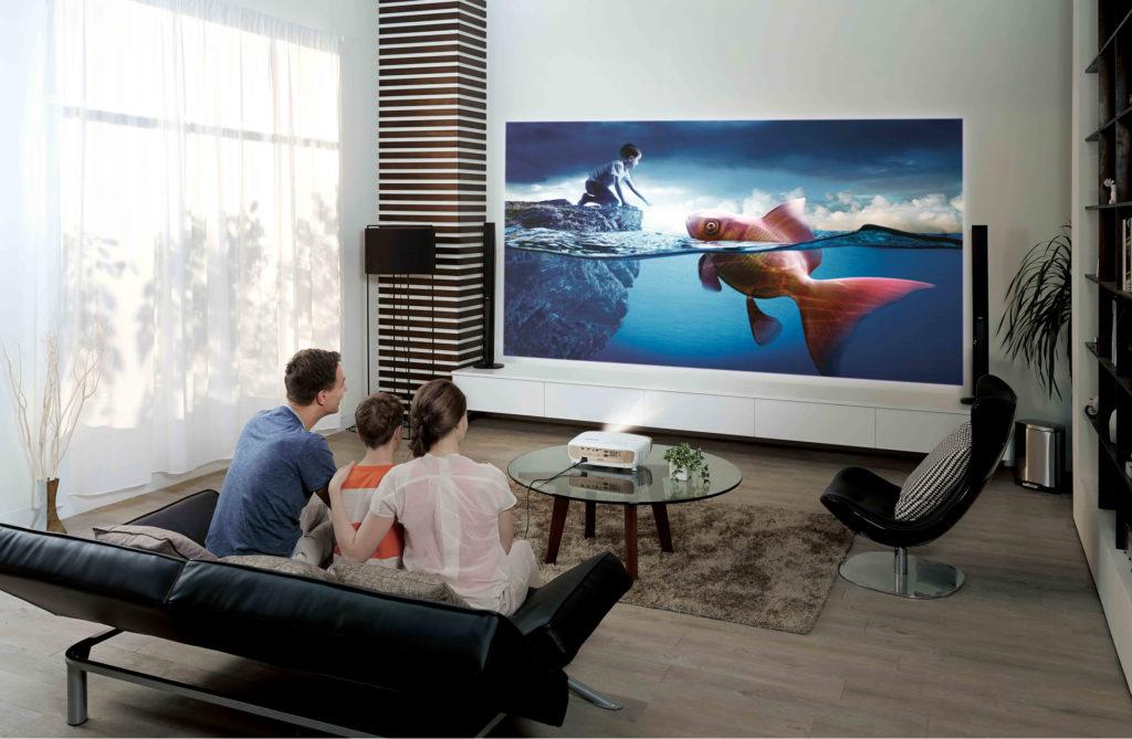 Выбираем лучший проектор для дома