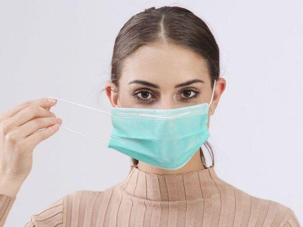 Дезинфекция маски