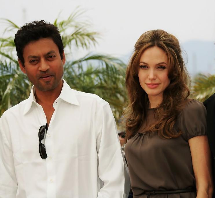 Ирфан с Анджелиной Джоли