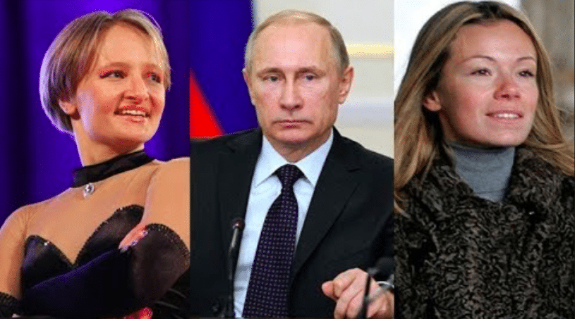 Путин и дочери