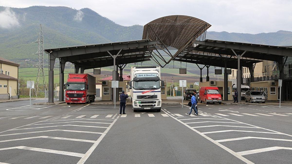граница Армении с Грузией