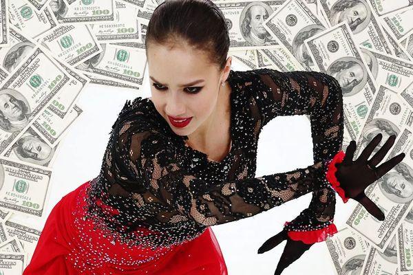 Как Алина Загитова стала миллионером: на чем зарабатывает фигуристка