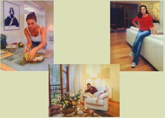 Уютная квартира-студия Марины Могилевской