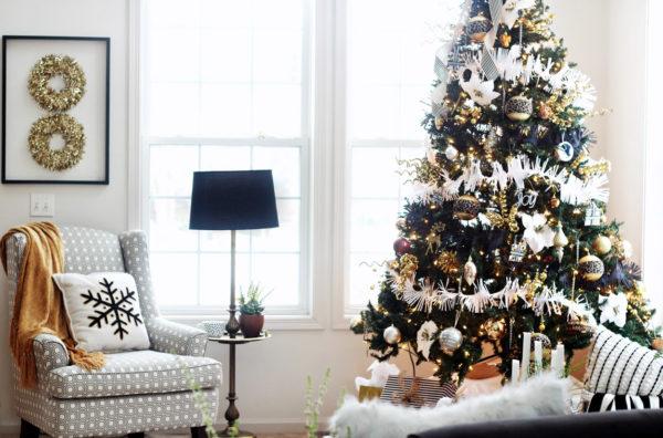 Украшение елки на Новый год 2021 своими руками