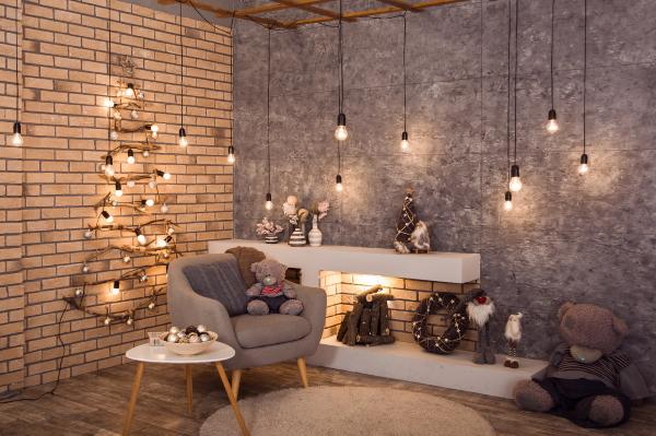 Украшение квартиры на Новый год 2021 своими руками