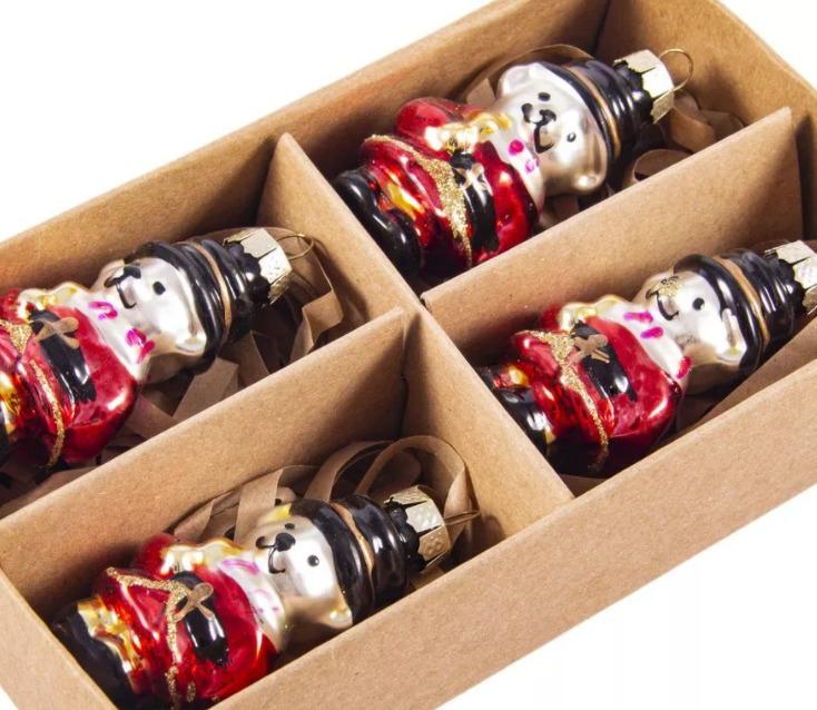 подарочный набор елочных игрушек