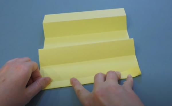 Бумагу разворачиваем