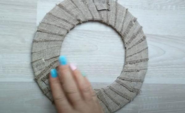Обматываем кольцо