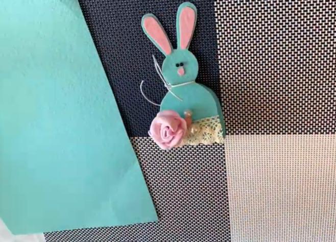 украшаем кролика