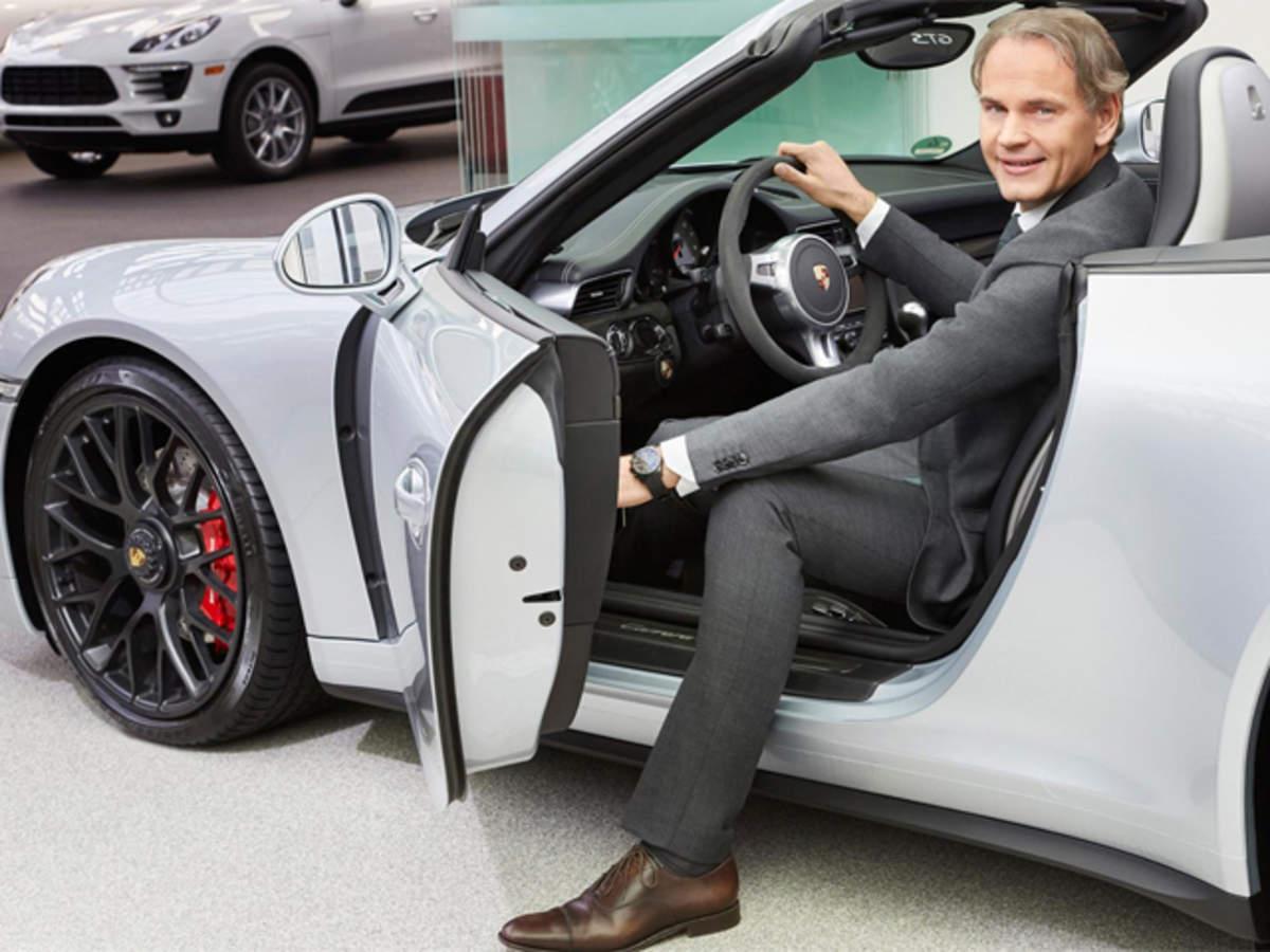 Оливер Блуме, глава Porsche